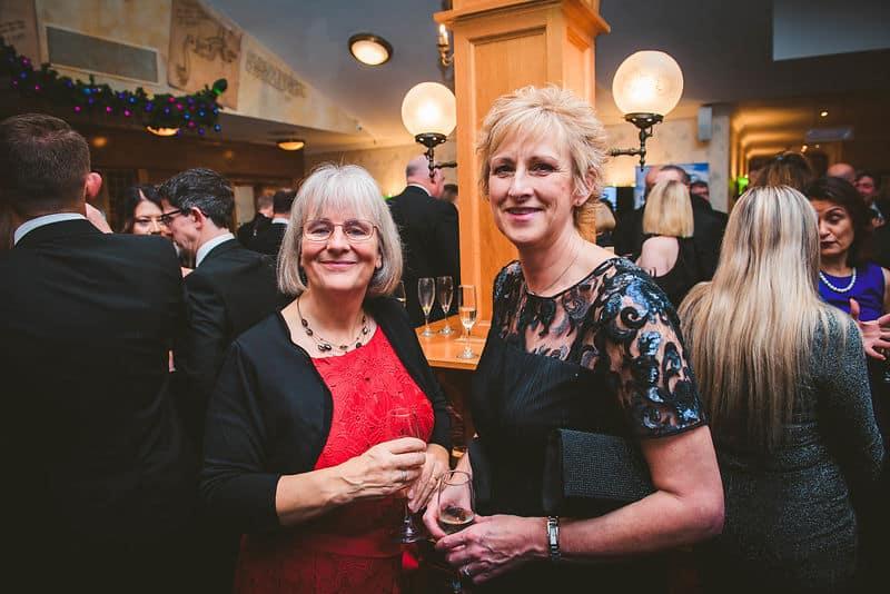 BHTA Awards two women at night