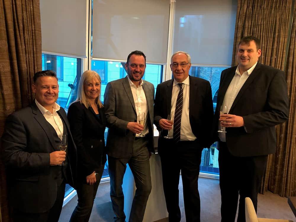 Craig Butcher, Clare Birt, Simon Claridge, Philippe Chêne, Andrew Macphail image