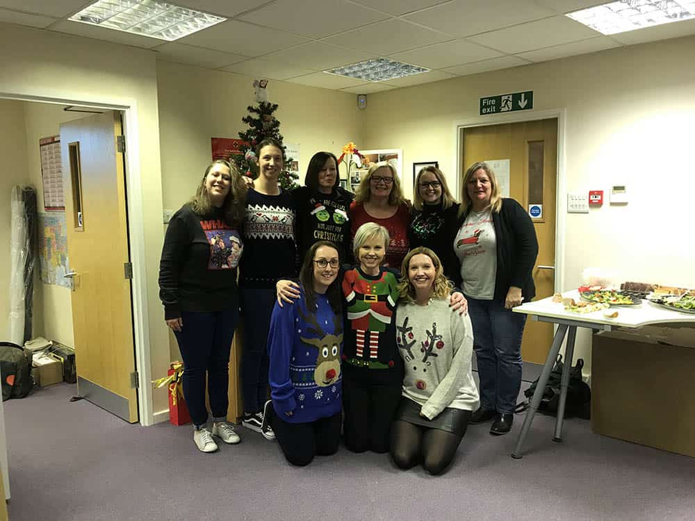 Simple Stuff Works team Christmas Jumper Save the Children