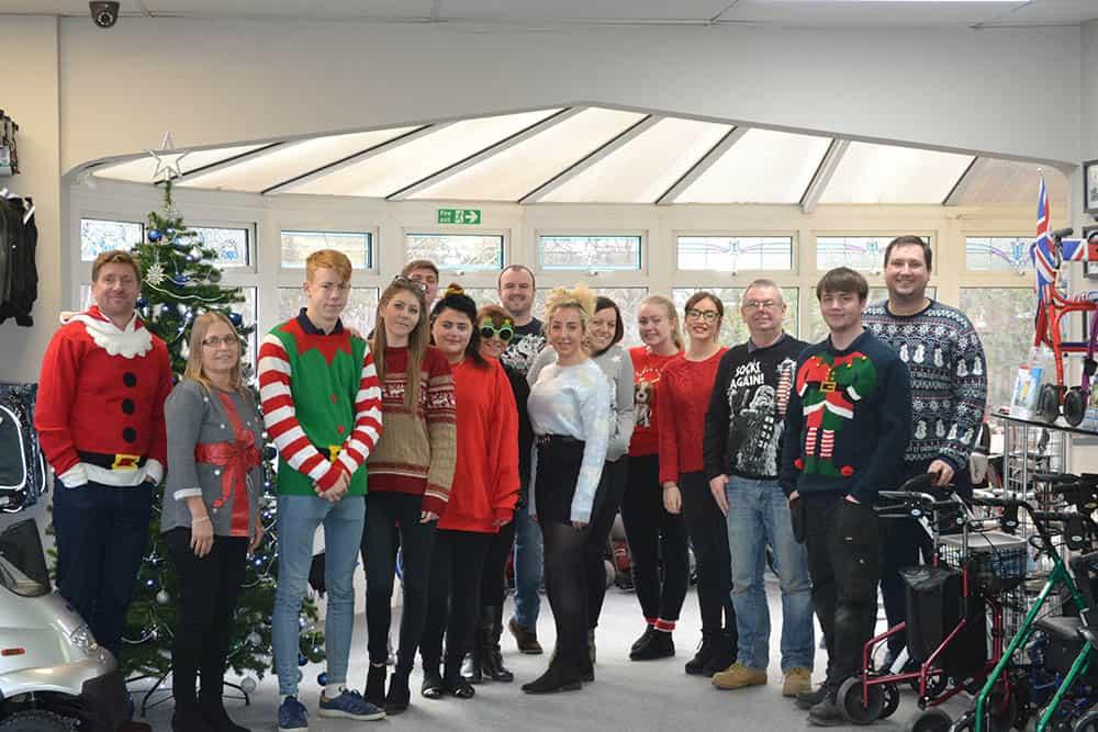 TGA team Christmas Jumper Save the Children