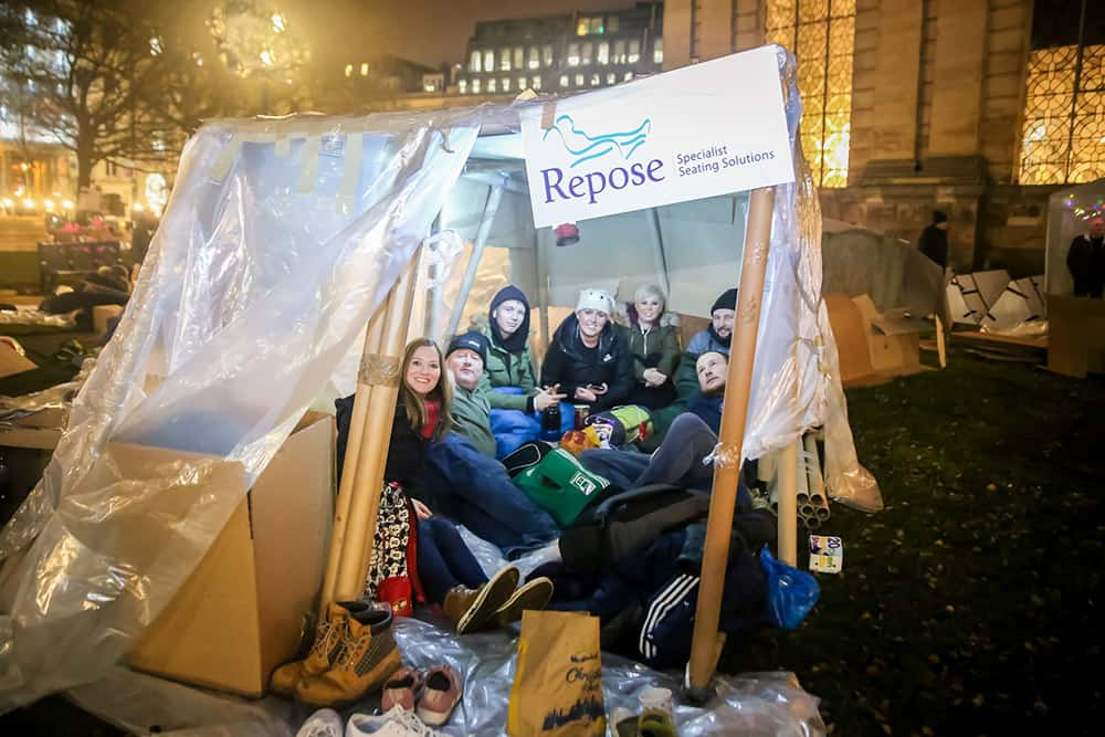 Repose furniture at the Big Brum Sleepout image