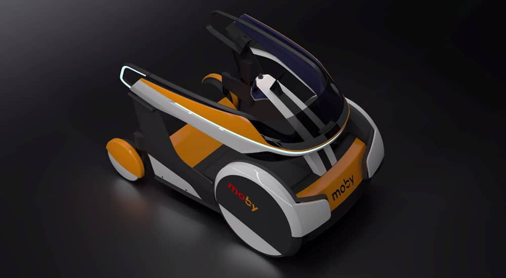 Moby mobility shared mobility vehicle for cities