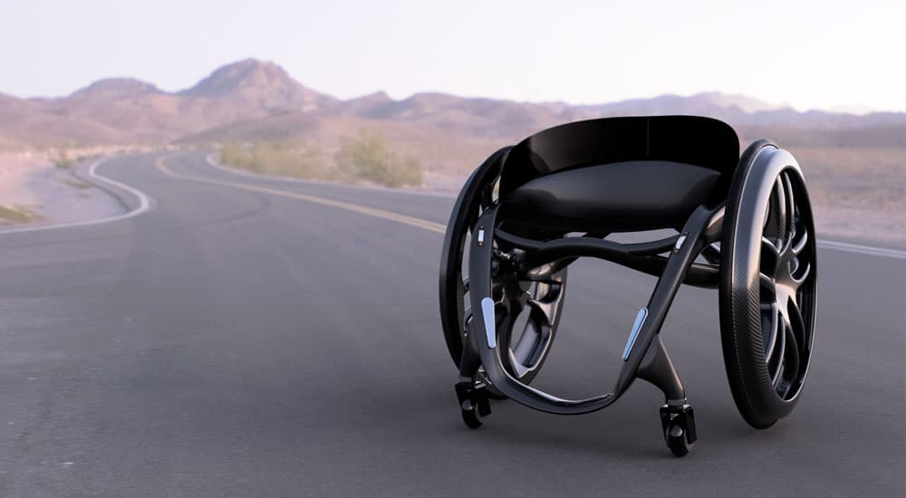 Phoenix Instinct on road wheelchair carbon fibre lightweight