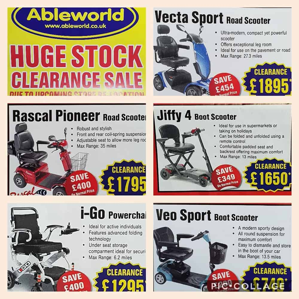 Ableworld Gloucester clearance stock image
