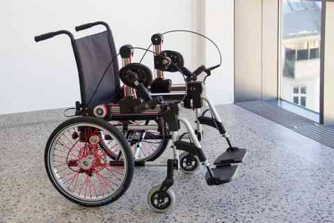 Project finds better alternative to wheelchair handrims for users and seeks business partners to develop a marketable version