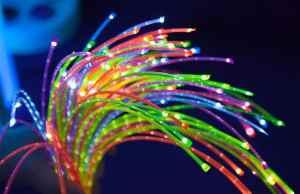 Sensory product with lights
