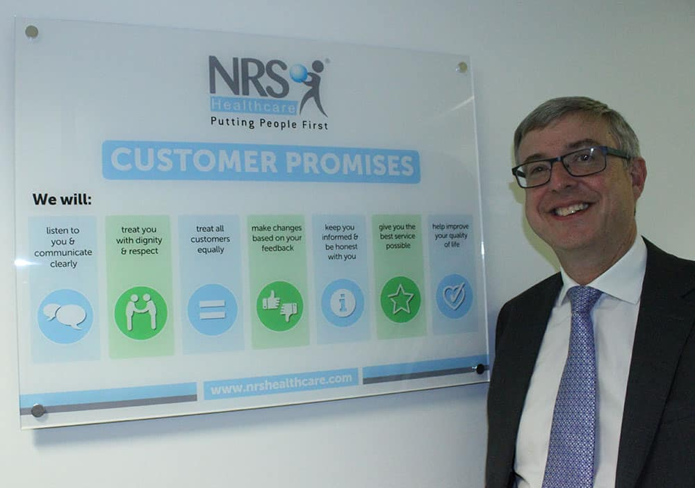 Jerry Benson CEO of NRS Healthcare