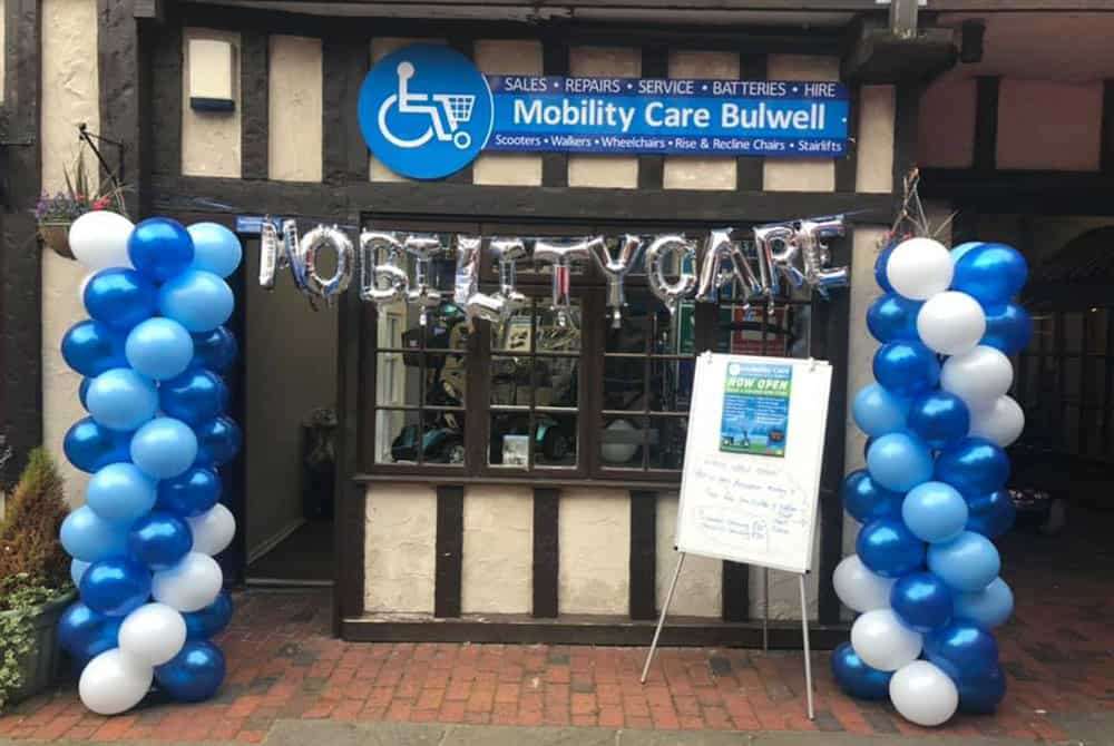 Mombility Care new store in Nottinghamshire Bulwell