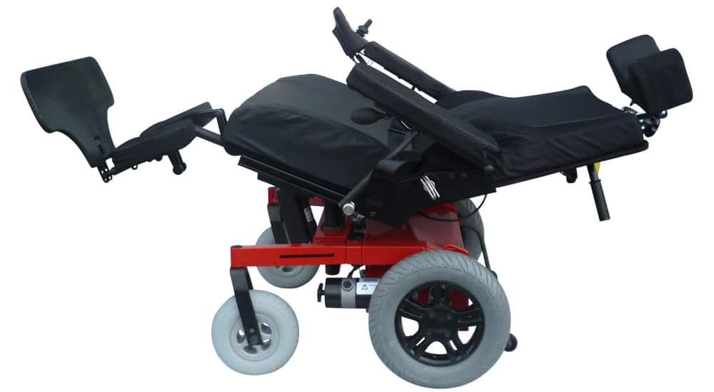 bariatric wheelchair qimova full recline