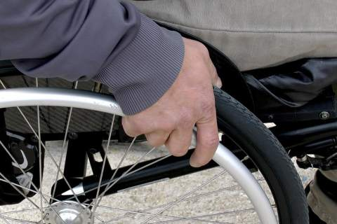 Generic wheelchair image