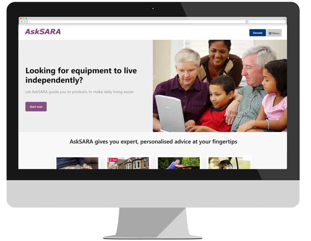 AskSara National Homepage