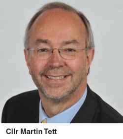 Conservative cllr Martin Tett Local Government Association
