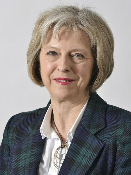 Theresa May image