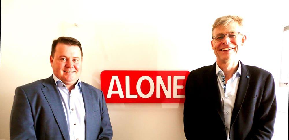 Alone partnership with Beechfield Healtcare