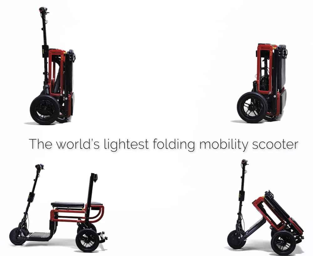 efoldi lightest scooter