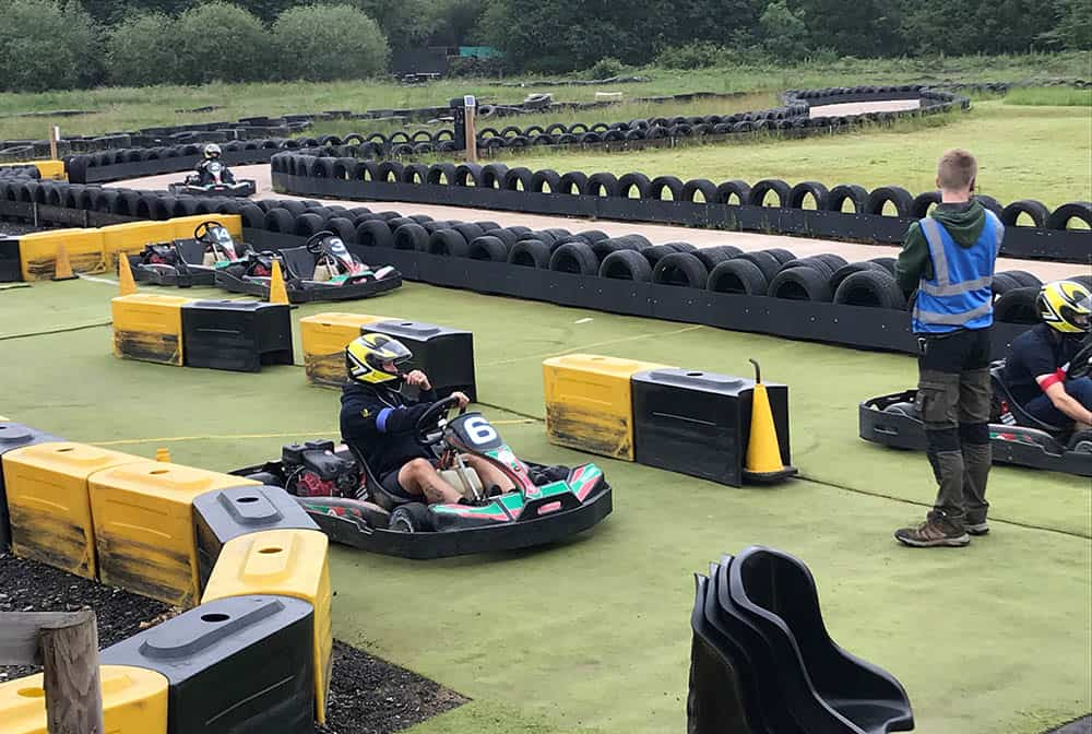 CCN Charity Day go karting and relay