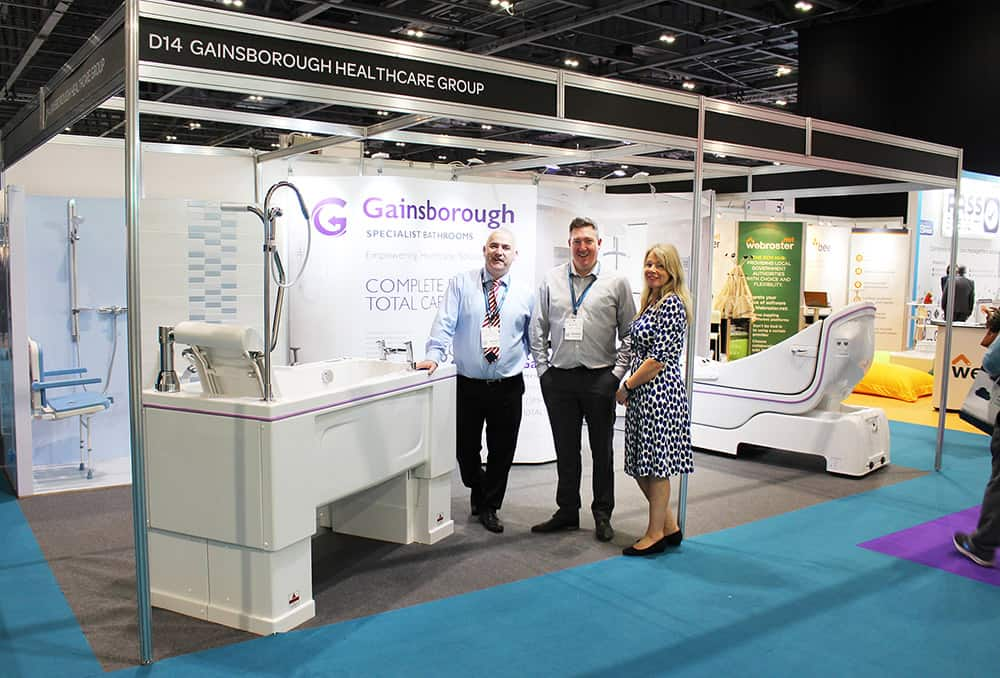 Gainsborough Specialist Bathrooms at The Care Show image