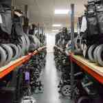 Hertfordshire Wheelchair Service Millbrook wheelchairs lined up
