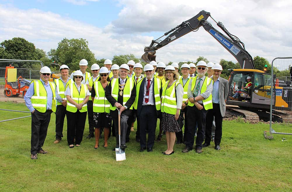 RDAC ground breaking launch Solihull Mayor