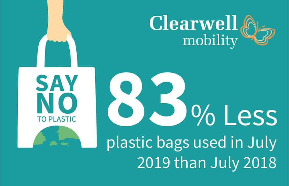 Bags of success for Clearwell Mobility's eco-friendly changes as