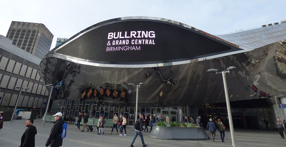 Birmingham Bullring and Grand Central Station