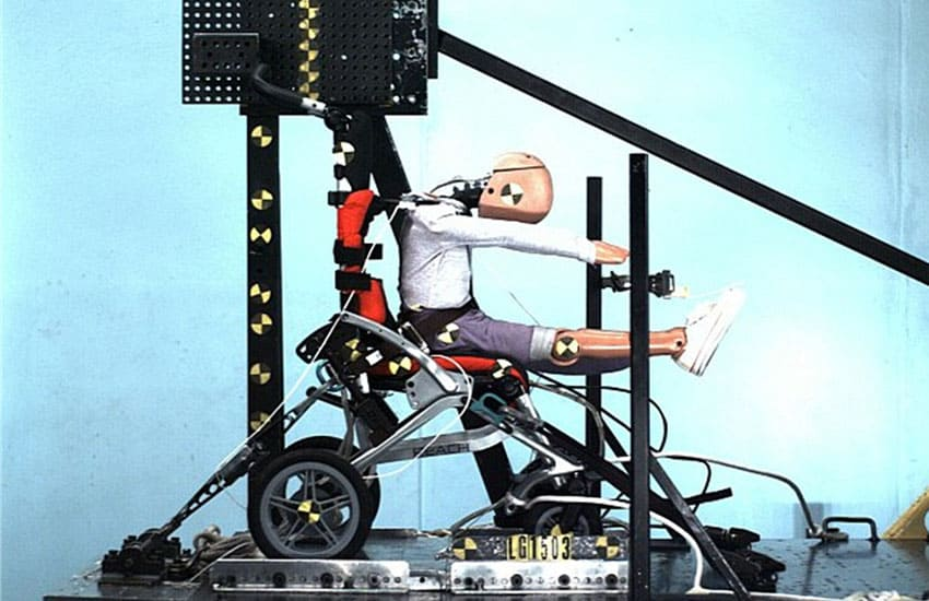 Let's get it clear: It's been 'Crash Tested'! So what?