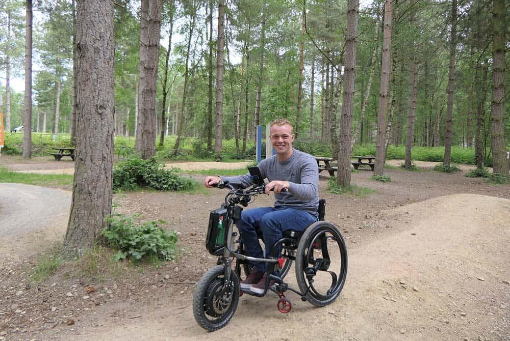 power add-on wheelchair loopwheels