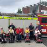 Oxfordshire mobility companies and Fire & Rescue Service create scooter user group to promote safety