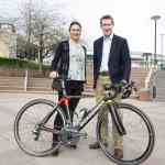 Dame Sarah Storey and Sheffield City Region Mayor Dan Jarvis