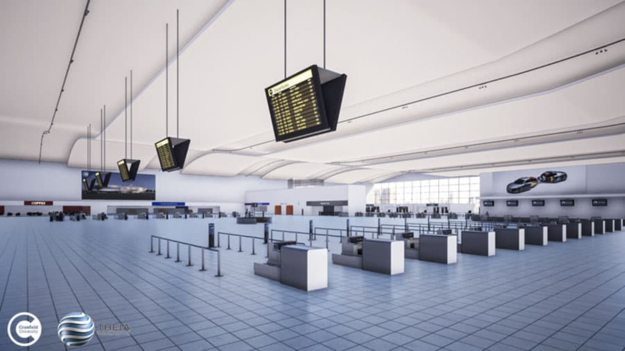 virtual reality airport mobility needs cranfield