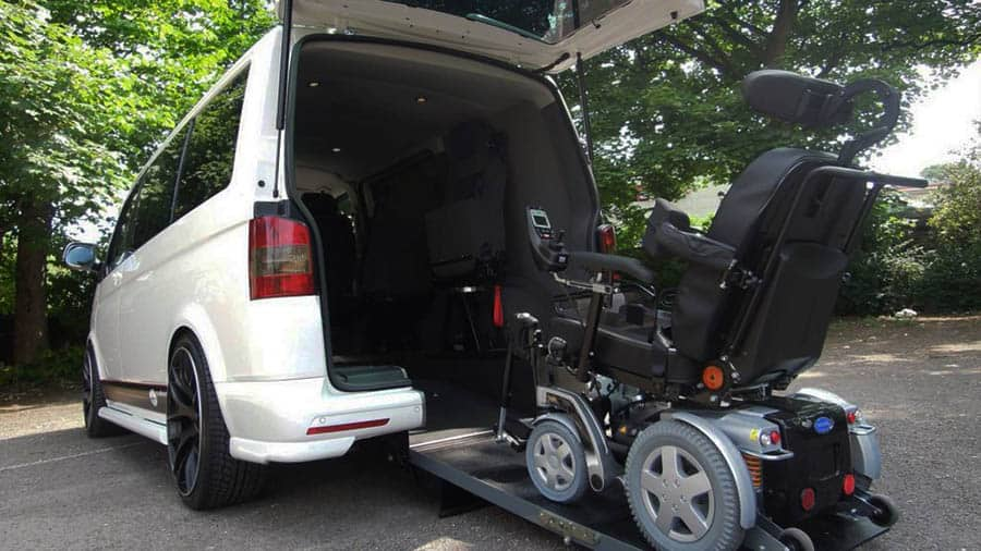 wheelchair accessible vehicle transfers
