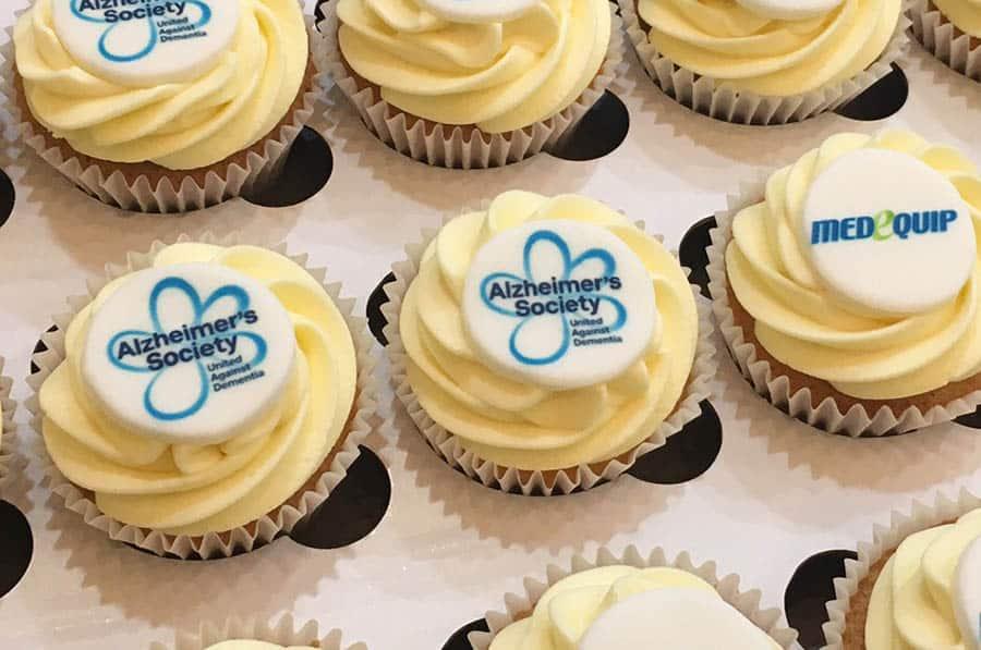 Alzheimers Society Cupcake Day Medequip