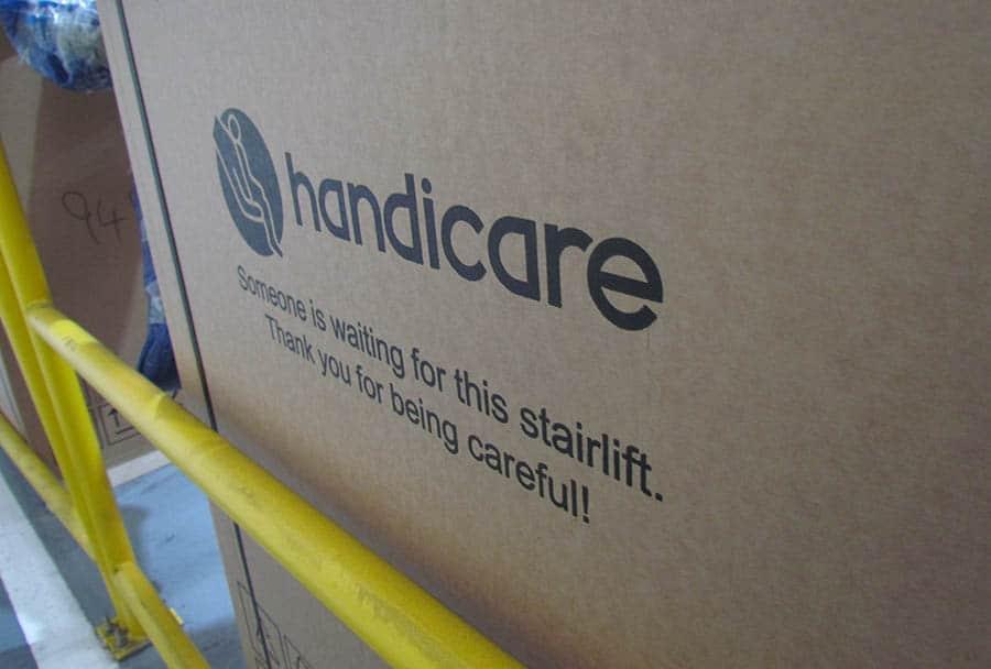 Handicare Manufacturer Stairlift Box