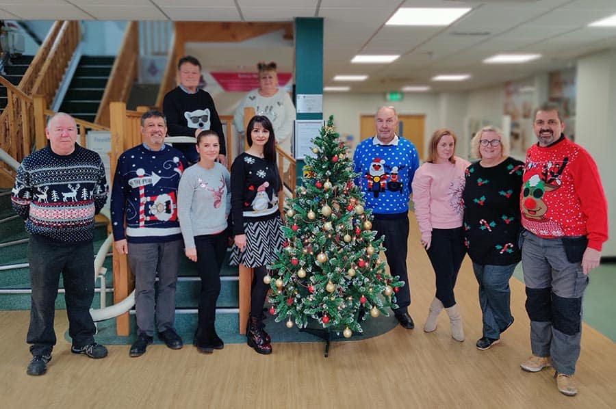 EMS Stairlifts Christmas Jumpers