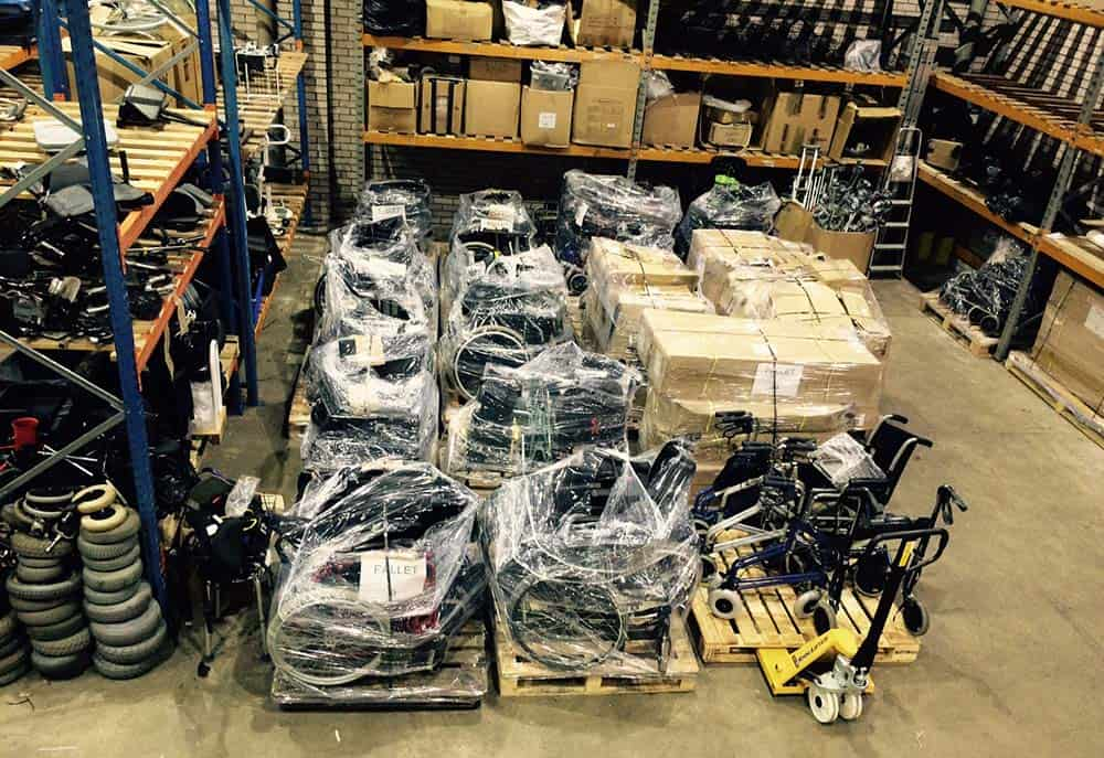 Phoenix Project equipment ready to send