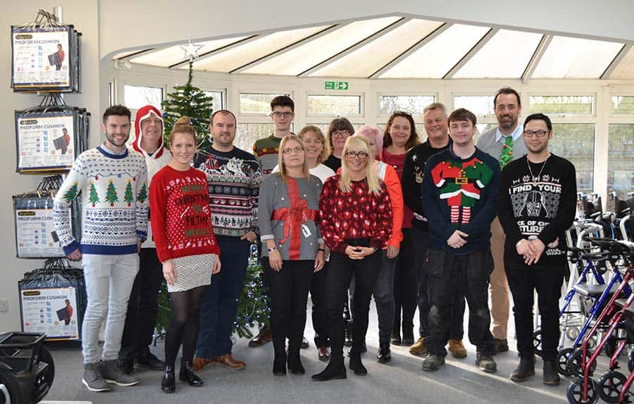 TGA Mobility Christmas Jumpers