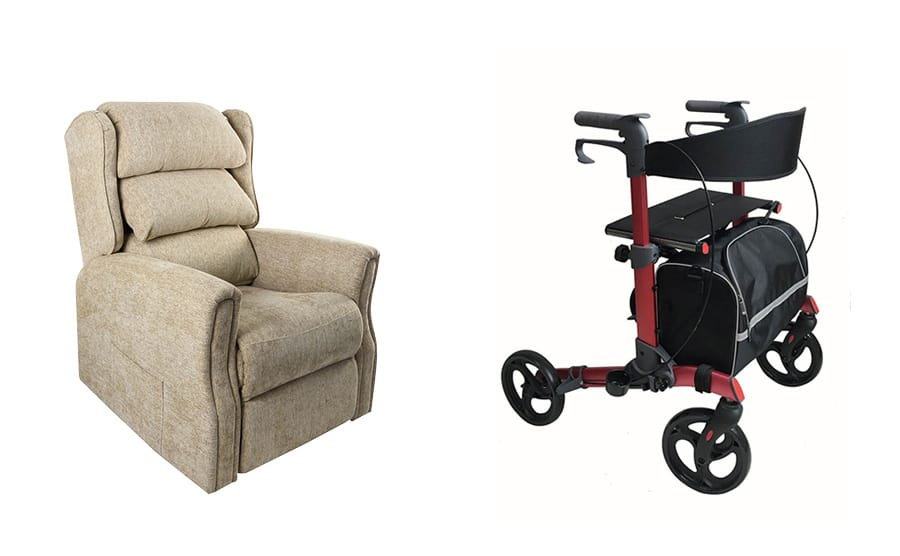 Z-Tec Mobility M-Brand Wilmslow and UK Walker 2