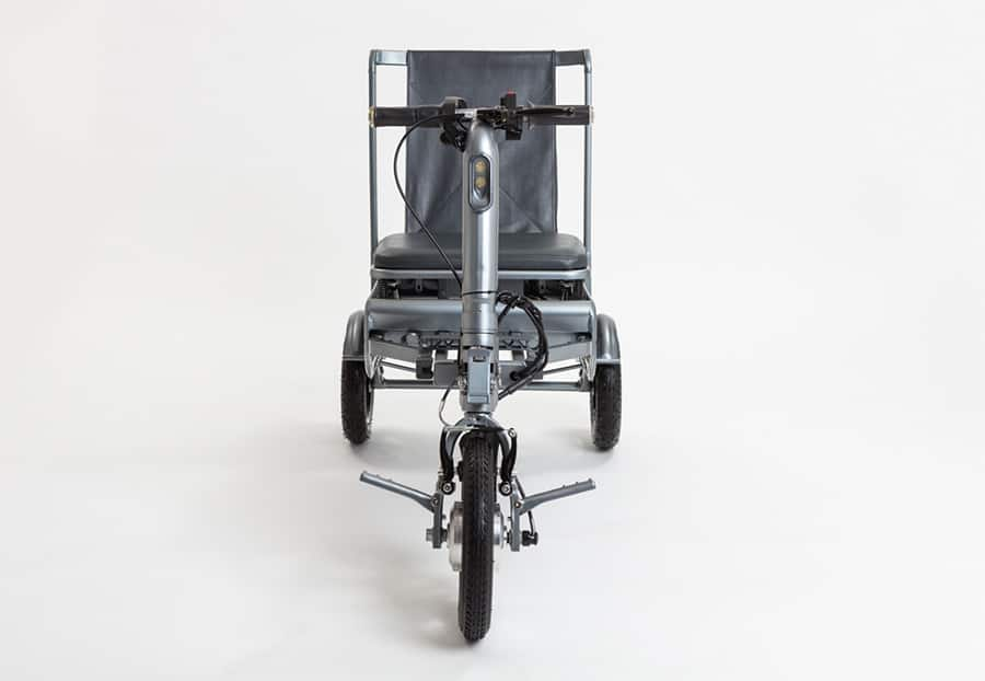 efoldi front of mobility scooter crowdcube funding