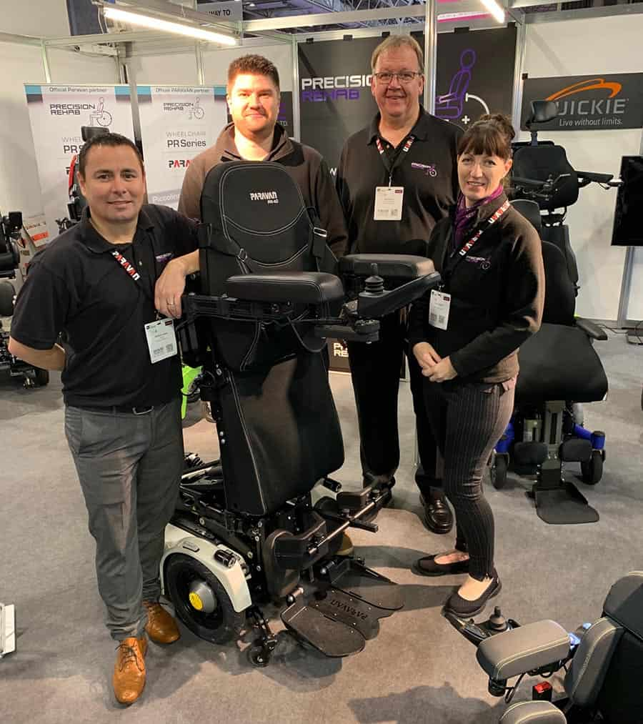 Precision Rehab new team members at OT Show