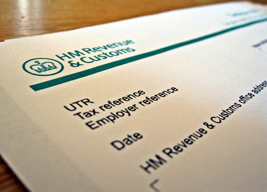 HMRC Self-Assessment Tax form