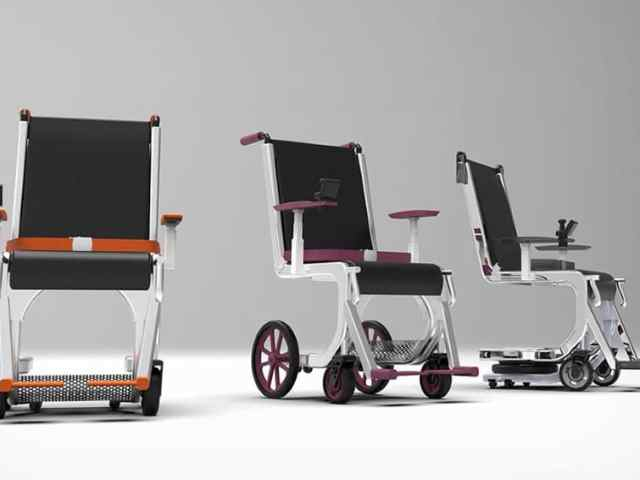 Row 1 Airport Wheelchair System two