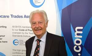 Ray Hodgkinson MBE former Director General of the BHTA