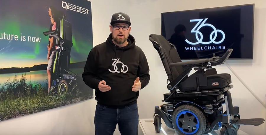 Ryan Hirst 360 Wheelchairs
