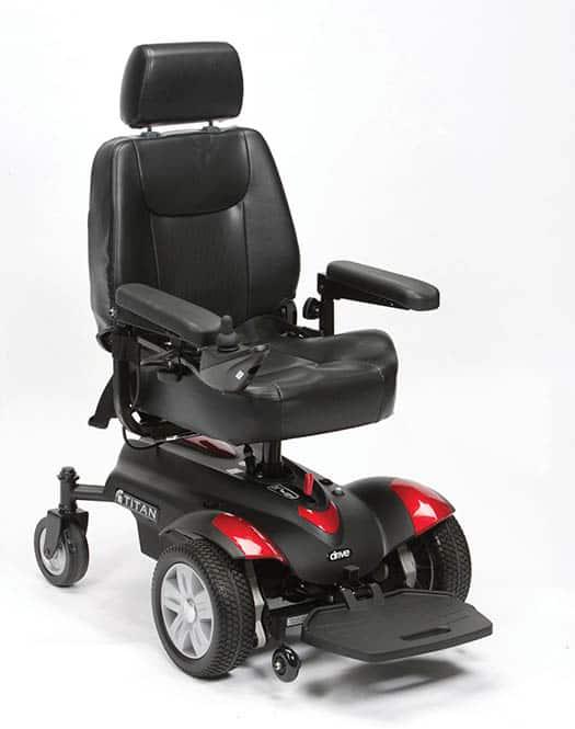 Titan Powerchair Drive DeVilbiss