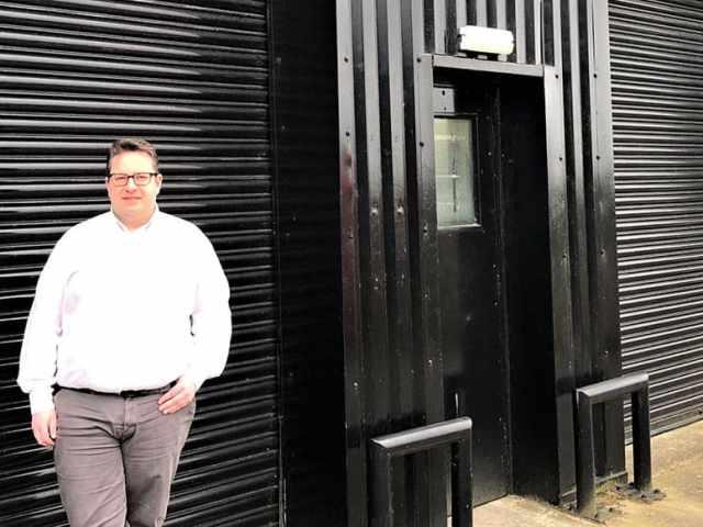 Graham Oliver - Yorkshire Community Equipment new Warehouse