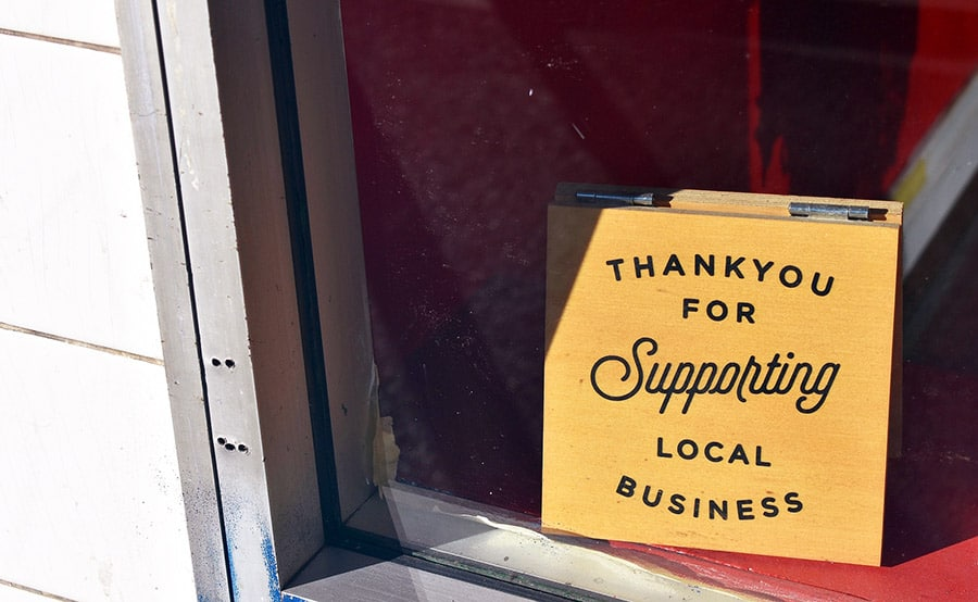 Support for local shops on the rise