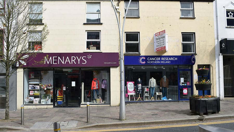 High street charity shops covid