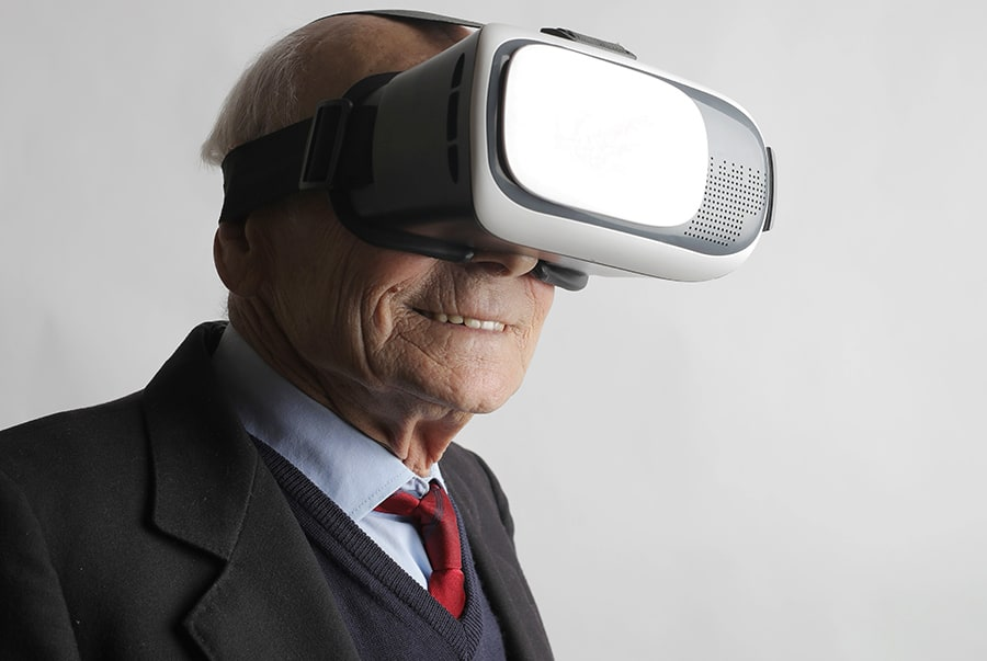 senior vr tech grant funding