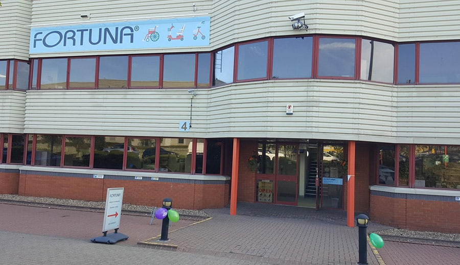 Fortuna Mobility building