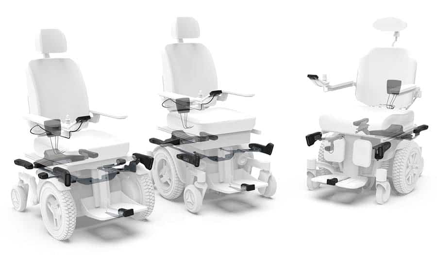 LUCI system on powerchairs